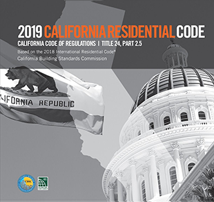 2019 California Residential Code, Title 24 Part 2.5