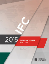2015 ICC International Fire Code (IFC), Softcover